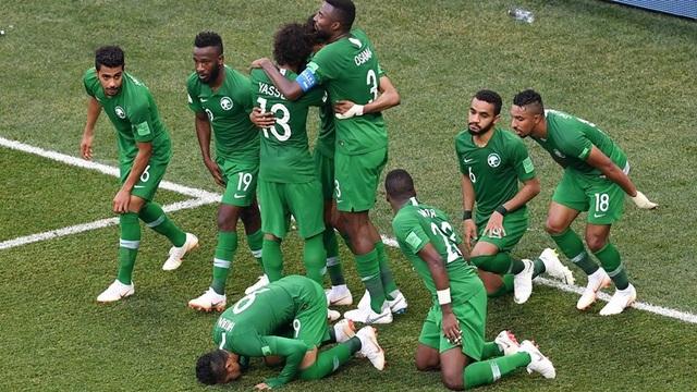 Saudi Arabia đã có bàn thắng đầu tiên ở World Cup 2018