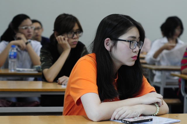 Hiện nhiều địa phương đã gần hoàn tất việc chấm thi. Đã có hàng chục bài thi điểm liệt môn Ngữ văn (Ảnh: Mỹ Hà)
