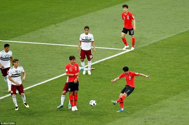 Son Hueng Min vẫn là cầu thủ đáng chú ý nhất bên phía Hàn Quốc