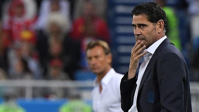 HLV Hierro không hài lòng với màn trình diễn của các cầu thủ Tây Ban Nha