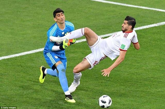 Iran bị loại, nhưng họ đã có trận đấu xuất sắc