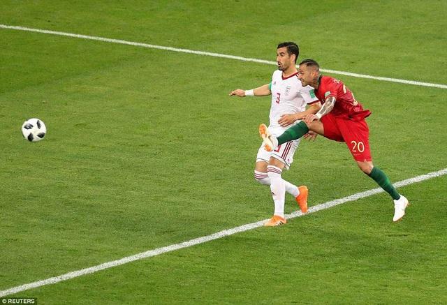 Pha lập công của Quaresma được xem là một trong những bàn đẹp nhất World Cup 2018