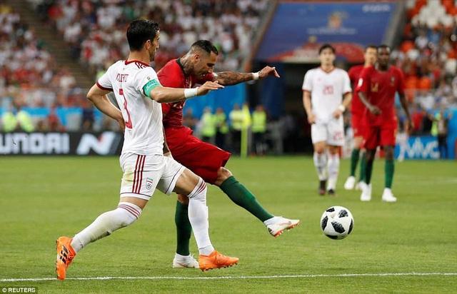 Quaresma tỏa sáng trong lần đầu được đá chính ở World Cup 2018