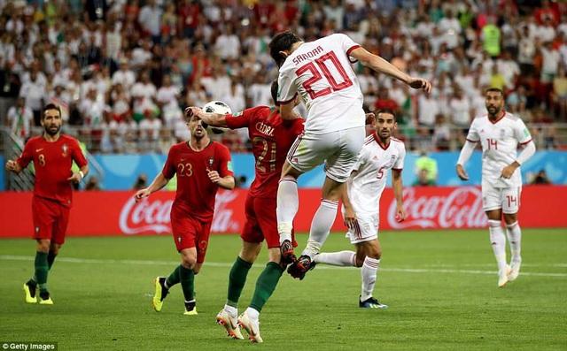 Hàng thủ Bồ Đào Nha đối diện nhiều áp lực khi Iran chơi đôi công