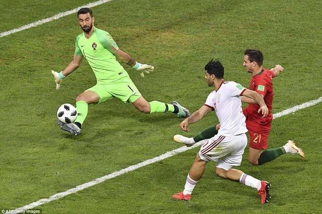 Bồ Đào Nha đã trải qua những khoảnh khắc âu lo khi đối diện Iran
