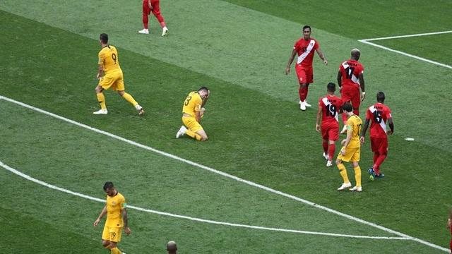 Australia tiếc nuối với những cơ hội bị bỏ lỡ ở hiệp 1