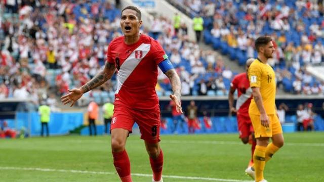 Guerrero chói sáng trong chiến thắng của đội tuyển Peru