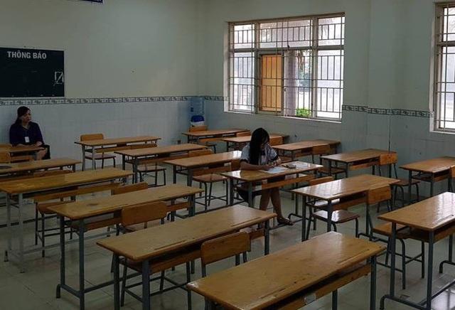 Điểm thi Trường THPT Phạm Văn Sáng, Hóc Môn, TPHCM chỉ có duy nhất một thí sinh trong buổi thi Tổ hợp môn Khoa học Tự nhiên