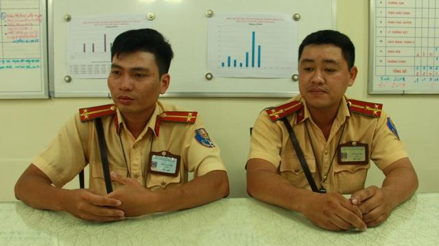 Chỉ huy Đội CSGT Tân Sơn Nhất cho biết đang đề xuất với lãnh đạo PC67 để đề nghị khen thưởng Thượng úy Vũ Đình Nam và Trung úy Đoàn Tấn Phú.