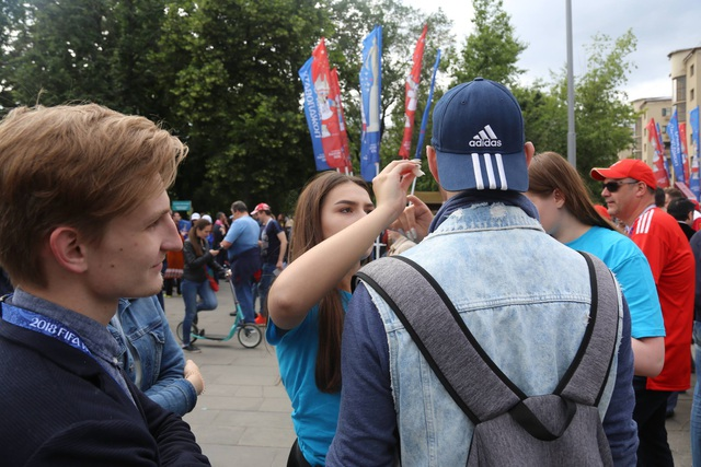 Ký sự nước Nga: Những người tô điểm cho World Cup 2018 - 2