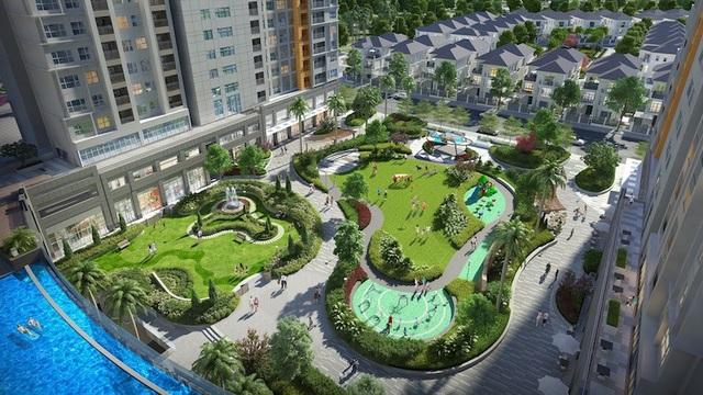 Chuỗi tiện ích nội khu hiện đại như khu quảng trường xanh, hồ bơi tràn, phòng gym…, dự án không chỉ mang đến sự tiện nghi, hiện đại cho cư dân mà còn góp phần không nhỏ gia tăng giá trị đầu tư tại đây.
