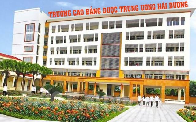 Giảng đường khu A Trường Cao đẳng Dược Trung ương - Hải Dương.