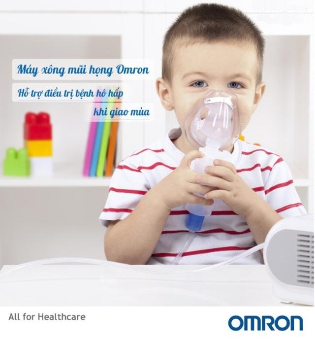 Nên có trong nhà một chiếc máy xông mũi họng cho cả gia đình