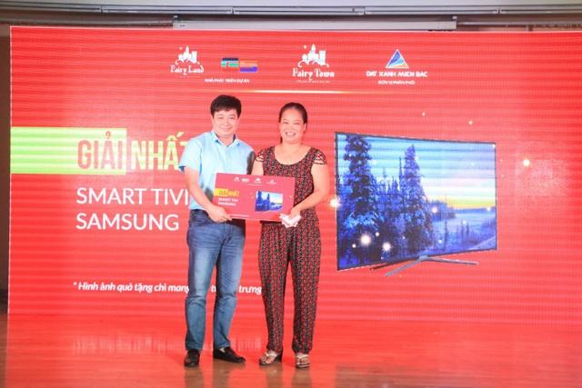 Khách hàng Nguyễn Thị Huyền Trang trúng giải nhất