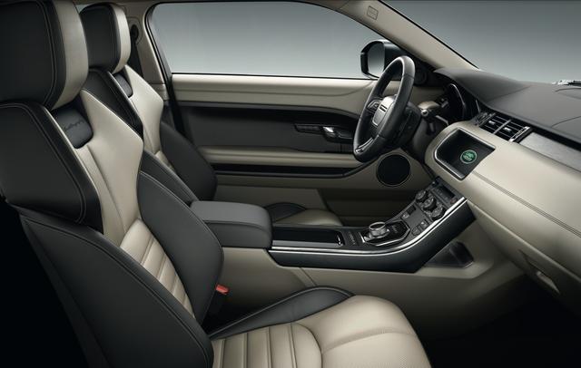 Evoque độc đáo ở chỗ nó cho bạn trải nghiệm cảm giác lái thể thao ngay trên một chiếc SUV địa hình nhỏ gọn và phong cách
