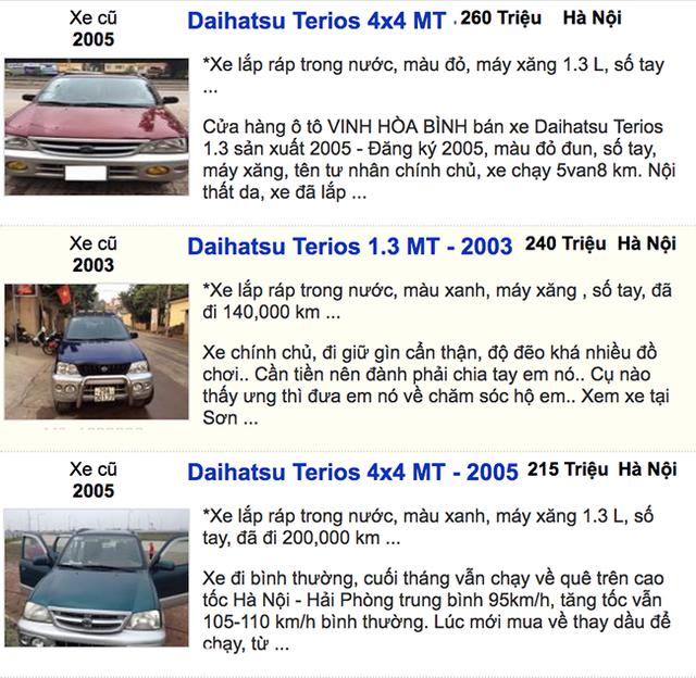 Dưới 300 triệu đồng - Mua xe ô tô cũ nào hợp lý? - 5