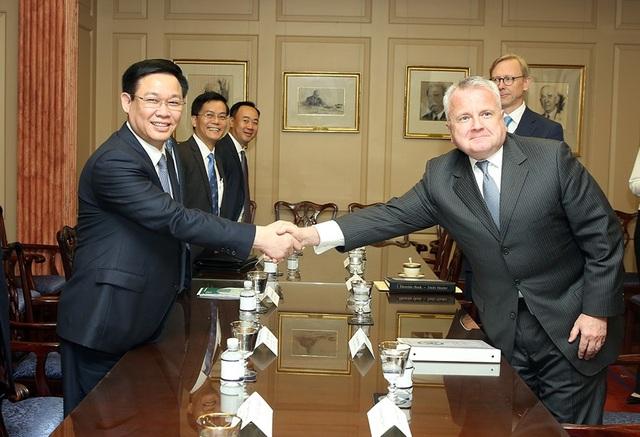 Phó Thủ tướng Vương Đình Huệ thăm chính thức Hoa Kỳ từ ngày 25-27/6