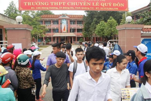 Trường THPT chuyên Lê Qúy Đôn có tỷ lệ thí sinh đạt tốt nghiệp cao