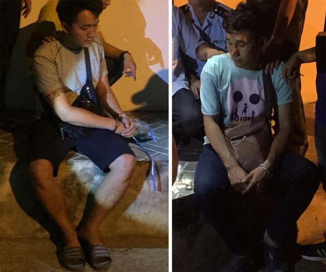 Hai đối tượng Lào buôn ma túy bị công an bắt giữ