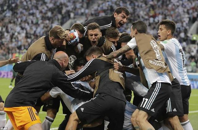 Argentina sẽ đối đầu Pháp ở vòng 1/8 World Cup 2018