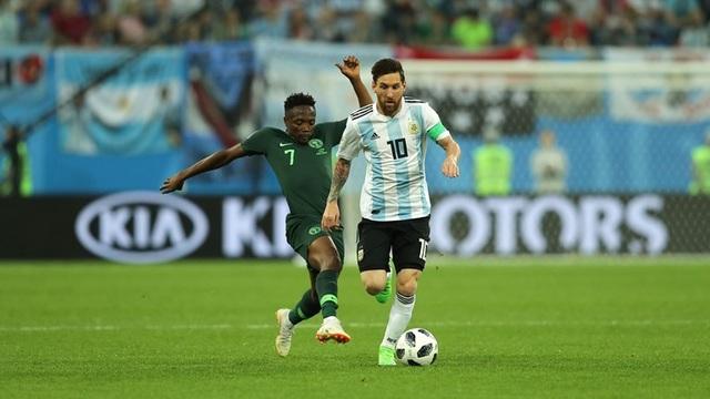 Messi miệt mài tìm kiếm cơ hội ghi bàn cho Argentina