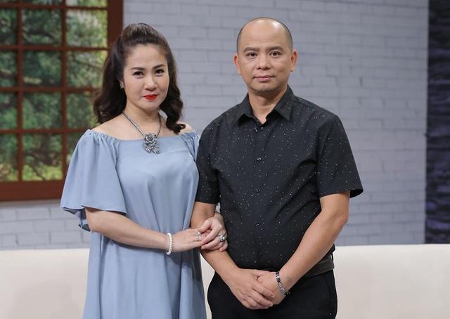 Vợ chồng diễn viên Anh Tuấn - Nguyệt Hằng