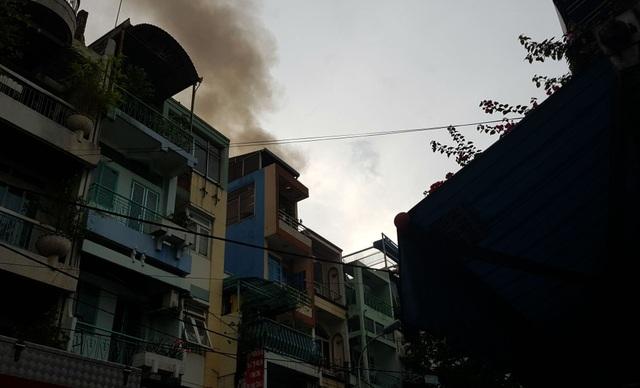 Đám cháy được lực lượng PCCC dập tắt kịp thời