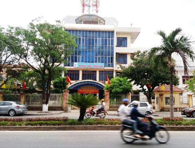 Trụ sở cơ quan Đài PT-TH tỉnh Quảng Bình
