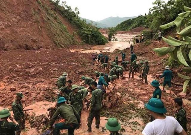 Có thể phải dừng tìm kiếm 8 người mất tích trong lũ ở Lai Châu - 2
