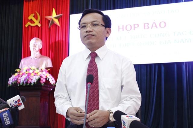 Ông Mai Văn Trinh (Cục trưởng Cục Quản lý chất lượng - Bộ GD&ĐT) cho biết, sẽ có phương án đặc cách với các thí sinh không thể đến điểm thi do mưa lũ.