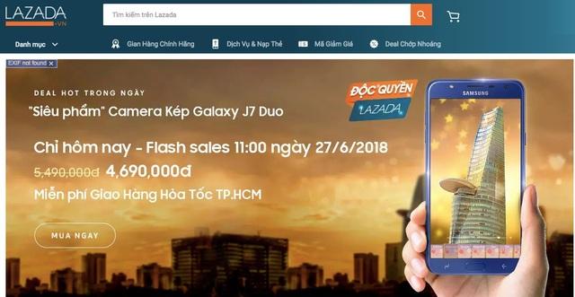Galaxy J7 Duo mở bán:  mỗi giây bán ra 2 máy - 1