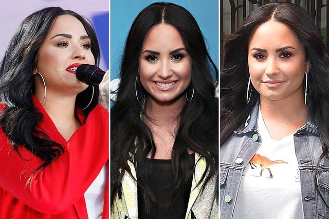 Demi Lovato rất hợp với đôi khuyên tai tròn của Gabriel&Co này