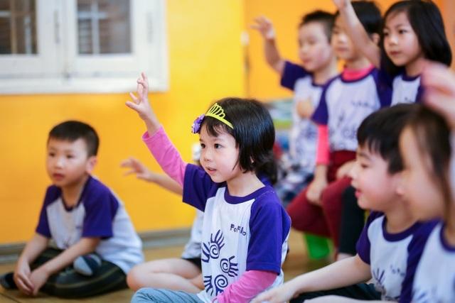 Các lớp học luôn thu hút sự tham gia nhiệt tình, hào hứng từ trẻ