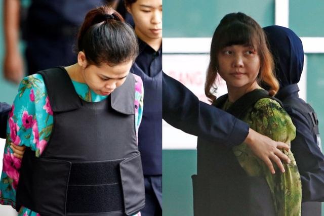 Nghi phạm Siti Aishah (trái) và Đoàn Thị Hương (Ảnh: Getty)