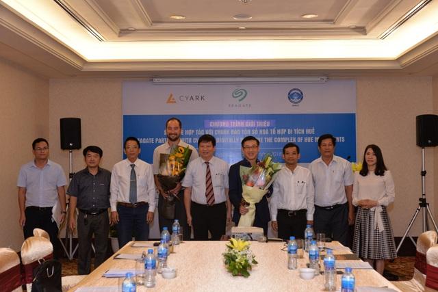 Lễ công bố dự án bảo tồn kỹ thuật số Lăng Tự Đức và Cung An Định trong Tổ hợp di tích Huế ở Việt Nam.