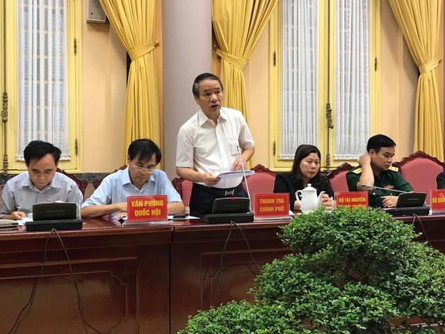 Phó Tổng Thanh tra Chính phủ Nguyễn Văn Thanh giới thiệu những quy định mới của luật Tố cáo