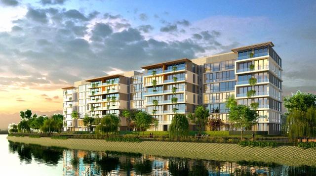 Jamona Sky Villas nằm kiêu hãnh bên dòng sông xanh mát