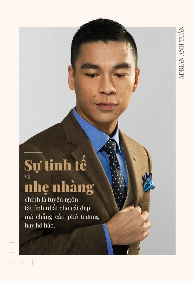Adrian Anh Tuấn: Tôi khẳng định mình bằng bespoke suit - 1