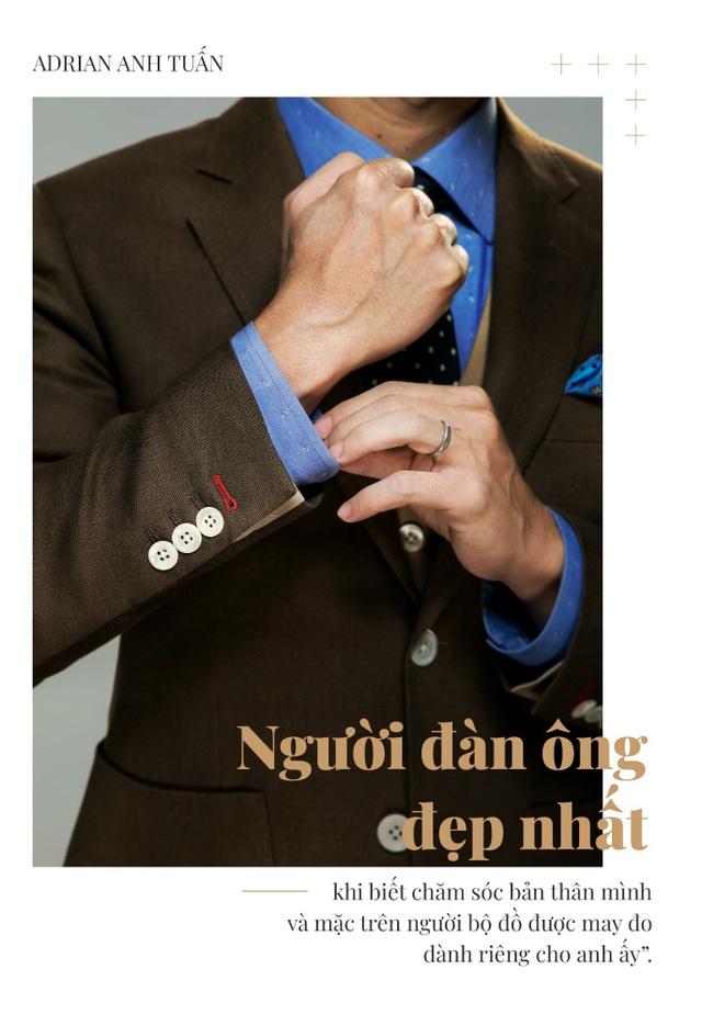Adrian Anh Tuấn: Tôi khẳng định mình bằng bespoke suit - 4