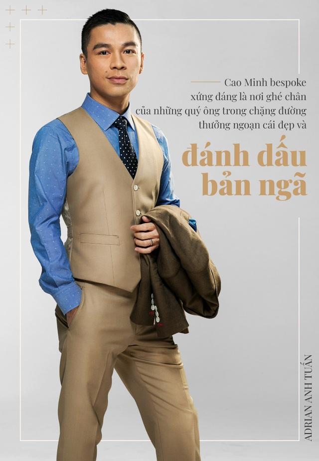 Adrian Anh Tuấn: Tôi khẳng định mình bằng bespoke suit - 5