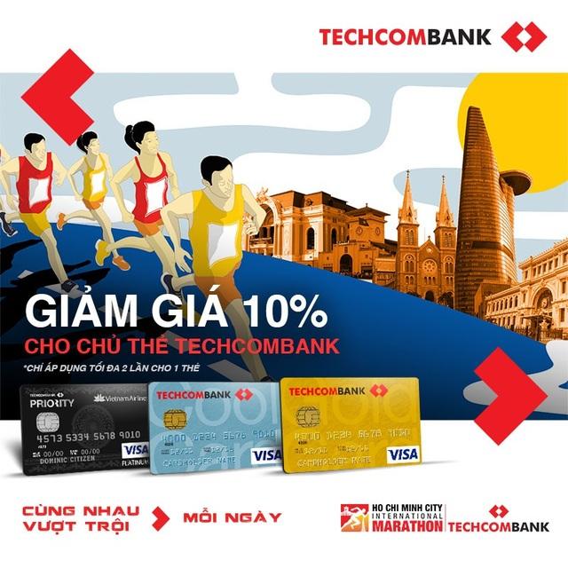 Giải Marathon Quốc tế TP.HCM Techcombank 2018 sẽ tổ chức vào ngày 2/12 - 1