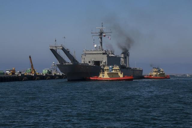 Tàu ARM Usumacinta (A-412) của Hải quân Mexico.