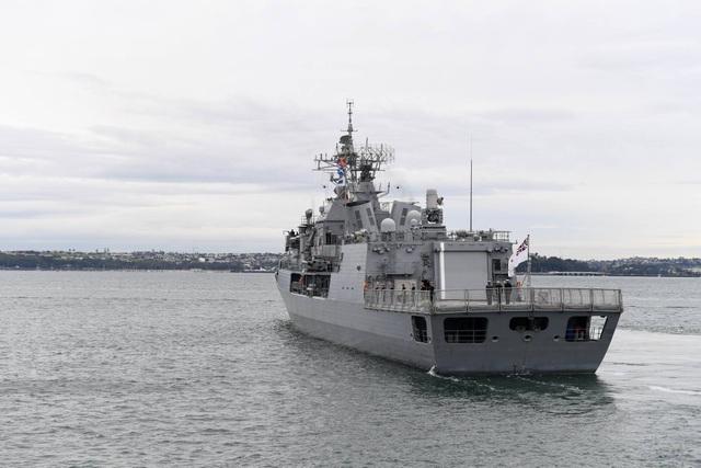 Tàu HMNZS Te Mana (F-111) của New Zealand