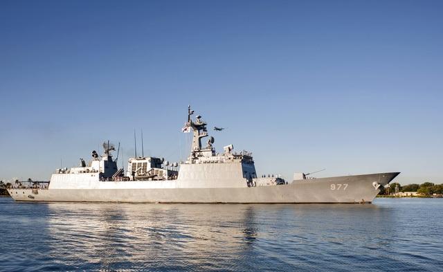 Tàu ROK Dae Jo Yeong (DDH-977) của Hàn Quốc