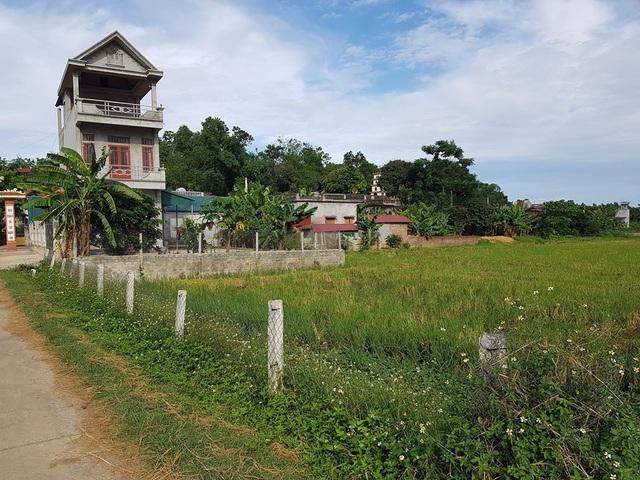 Căn nhà của con trai ông Lý có một phần diện tích đất nông nghiệp lấn chiếm, xây dựng trái phép trên đất không được nhà nước giao.