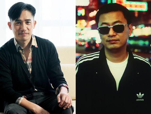 Nam diễn viên hàng đầu của màn ảnh Hồng Kông - Lương Triều Vỹ (56 tuổi - trái) và đạo diễn nổi danh trong giới làm phim Hồng Kông - Vương Gia Vệ (59 tuổi - phải).