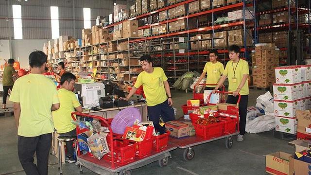 Vị trí nhân viên kho có mức thu nhập 6 - 11 triệu đồng bao gồm lương và thưởng theo năng suất.