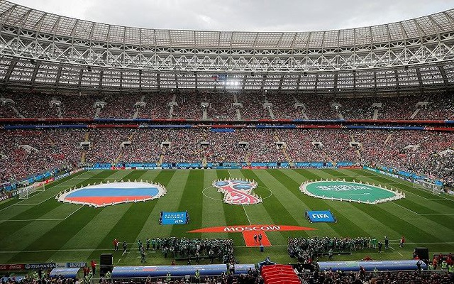 Cảnh khai mạc World Cup 2018