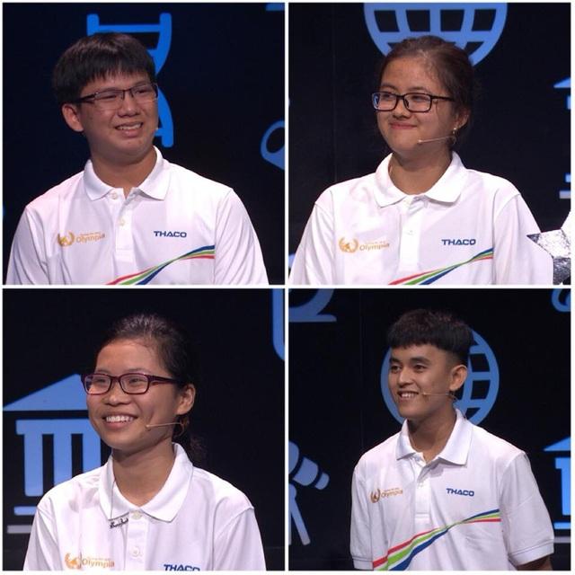 4 thí sinh tham gia cuộc thi Tuần 1 Tháng 1 Quý 4