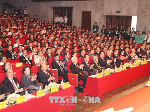 Các đại biểu tham dự Lễ kỷ niệm. Ảnh: Trí Dũng/TTXVN